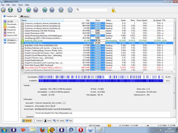 Qbittorrent stalled download